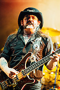 Lemmy Kilmister/Motorhead performing live at the Rock A Field Festival in Luxembourg, Europe on June 23, 2012