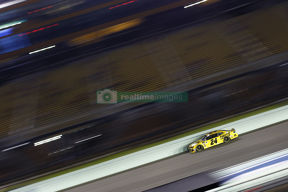 November 16, 2018 - Homestead, Florida, U.S. - William Byron (24) takes to the track to qualify for the Ford 400 at Homestead-Miami Speedway in Homestead, Florida. (Credit Image: © Justin R. Noe Asp Inc/ASP)