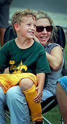 05 October 2013. Carrolton Boosters Soccer. New Orleans, Louisiana. <br /> U8 - Rams v Blue Marlins<br /> Photo; Charlie Varley