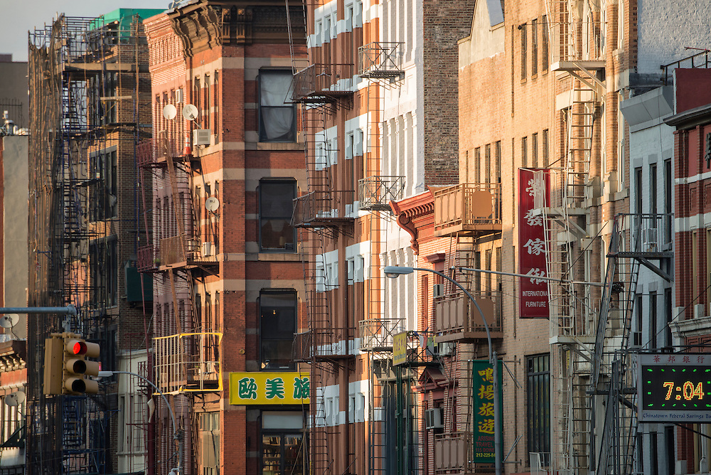 USA; New York; Manhattan, Chinatown, Canal street, buildings, city