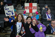England fans before the International Friendly match between England Women and USA Women at stadium:mk, Milton Keynes<br /> Picture by David Horn/Focus Images Ltd +44 7545 970036<br /> 13/02/2015