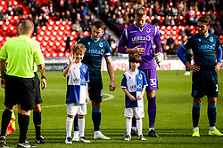 Bristol Rovers mascots at Doncaster Rovers - Mandatory by-line: Robbie Stephenson/JMP - 19/10/2019 - FOOTBALL - The Keepmoat Stadium - Doncaster, England - Doncaster Rovers v Bristol Rovers - Sky Bet League One