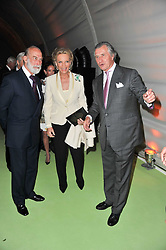 Left to right, TRH PRINCE & PRINCESS MICHAEL OF KENT and ARNAUD BAMBERGER at a dinner hosted by Cartier in celebration of the Chelsea Flower Show held at Battersea Power Station, 188 Kirtling Street, London SW8 on 23rd May 2011.