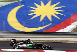 Nico Hulkenberg (GER) Sahara Force India F1 VJM09.<br /> <br />  beim GP von Malaysia 2016 in Sepang / 300916<br /> <br /> ***Formula One Grand Prix of Malaysia on September 30, 2016 in Sepang.***