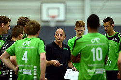 22-10-2014 NED: Selectie SSS seizoen 2014-2015, Barneveld<br /> Topvolleybal SSS Barneveld klaar voor het nieuwe seizoen 2014-2015 / Trainer Ali Moghaddasian