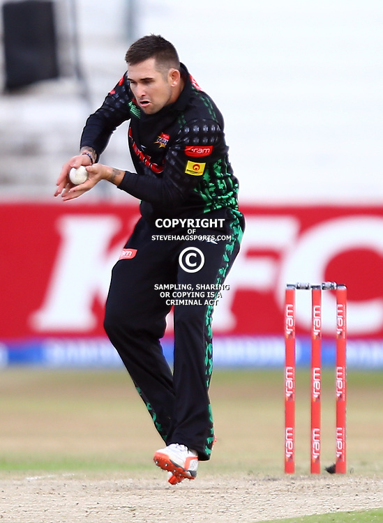 Durban South Africa - November 8:Cameron Delport of the Sunfoil Dolphins during the RAM Slam T20 match between Sunfoil Dolphins and The Warriors,Sunday November 8th,Sahara Stadium Kingsmead (Photo by Steve Haag)images for social media must have consent from Steve Haag