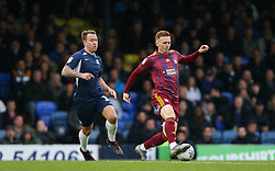 Jon Nolan of Ipswich Town on the ball - Mandatory by-line: Arron Gent/JMP - 27/10/2019 - FOOTBALL - Roots Hall - Southend-on-Sea, England - Southend United v Ipswich Town - Sky Bet League One