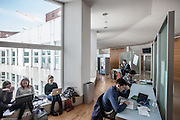 Milan, SDA Bocconi School of Management, studying common areas, Velodromo building