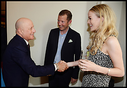 ,Ronald O.Perelman, Nat Rothschild and Guest  attend the National Youth Orchestra of The United States of America Reception at the <br /> The Royal Albert Hall hosted be Ronald O.Perelman, London, United Kingdom,<br /> Sunday, 21st July 2013<br /> Picture by Andrew Parsons / i-Images
