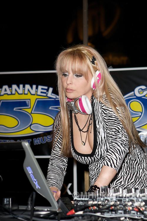DJ Kristin Jackson Photo by Michael Hickey