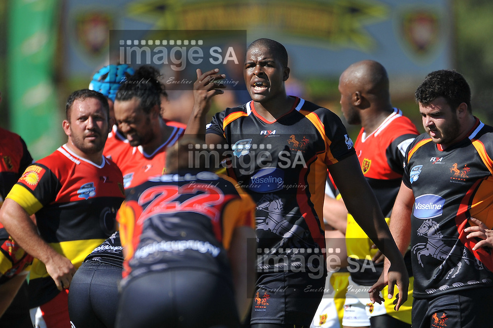 CAPE TOWN, SOUTH AFRICA - Saturday 28 February 2015, Nqubeko Zulu of Vaseline Wanderers during the second round match of the Cell C Community Cup between Hamiltons and Vaseline Wanderers at the Stephan Oval, Green Point.<br /> Photo by Roger Sedres/ImageSA/SARU