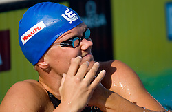 Riia-Rosa Koskelainen of Finland competes during Women's  50m Freestyle Heats during the 13th FINA World Championships Roma 2009, on August 1, 2009, at the Stadio del Nuoto,  in Foro Italico, Rome, Italy. (Photo by Vid Ponikvar / Sportida)