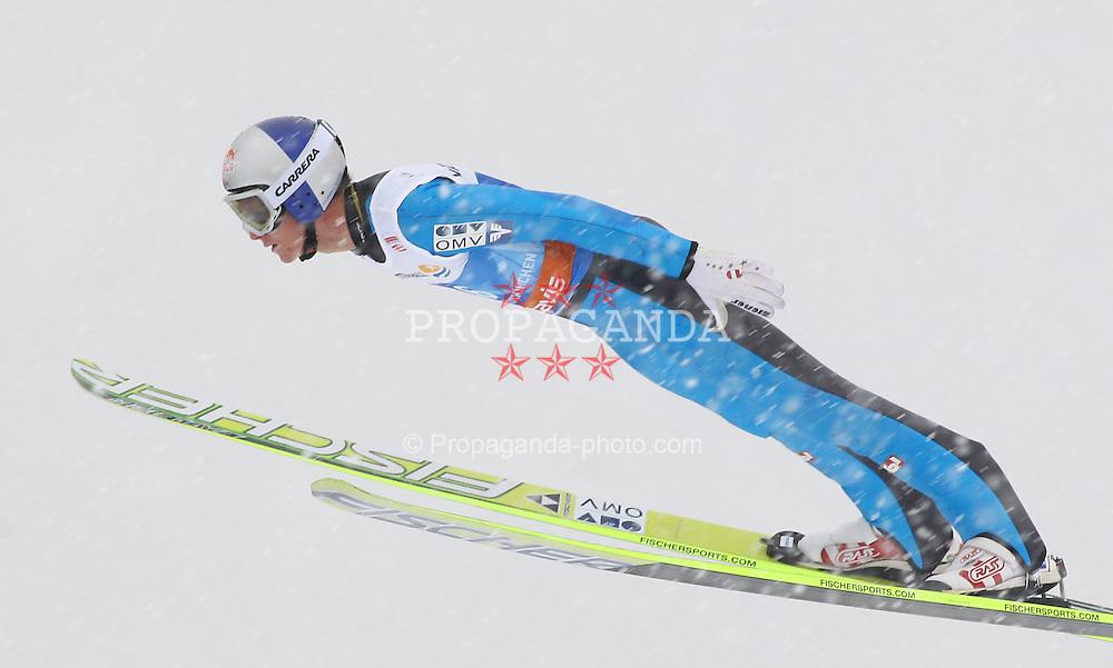 31.12.2011, Olympia Skisprungschanze, Garmisch Partenkirchen, GER, 60. Vierschanzentournee, FIS Ski Sprung Weltcup, Training, im Bild Thomas MORGENSTERN (AUT) // Thomas MORGENSTERN (AUT) during a practice session of 60th Four-Hills-Tournament FIS World Cup Ski Jumping at Olympia Skisprungschanze, Garmisch Partenkirchen, Germany on 2011/12/31. EXPA Pictures © 2011, PhotoCredit: EXPA/ Sven Kiesewetter