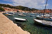 The harbour at Hvar, Croatia