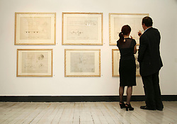 Pictured at the opening of the Whitewash &amp; Thatch Exhibition - Architectural Drawings from 1930's &amp; 40's at the National Museum of Ireland - Decorative Arts and History Collins Barracks on 19th April 2007 <br /><br /><br />Commissioned by the National Museum of Ireland