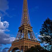 Touur Eiffel..Paris, France.