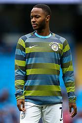 Raheem Sterling of Manchester City - Mandatory by-line: Robbie Stephenson/JMP - 19/08/2018 - FOOTBALL - Etihad Stadium - Manchester, England - Manchester City v Huddersfield Town - Premier League