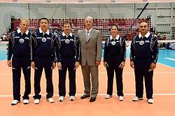08-08-2014 NED: FIVB Grand Prix Nederland - Puerto Rico, Doetinchem<br /> Officials FIVB en referees