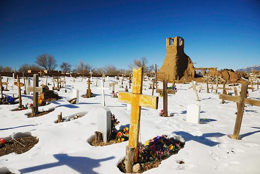Cemetery,Taos Indian Pueblo, Taos , New Mexico.