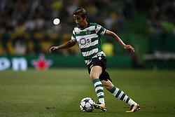 September 27, 2017 - Lisbon, Portugal - Sporting's defender Fabio Coentrao in action during  the Champions League 2017/18 match between Sporting CP vs FC Barcelona, in Lisbon, on September 27, 2017. (Credit Image: © Carlos Palma/NurPhoto via ZUMA Press)