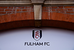 LONDON, ENGLAND - Sunday, March 17, 2019: An exterior view of Fulham's Craven Cottage stadium before the FA Premier League match between Fulham FC and Liverpool FC. (Pic by David Rawcliffe/Propaganda)