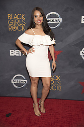August 6, 2017 - New Jersey, U.S - ANTONIQUE SMITH, at the Black Girls Rock 2017 red carpet. Black Girls Rock 2017 was held at the New Jersey Performing Arts Center in Newark New Jersey. (Credit Image: © Ricky Fitchett via ZUMA Wire)