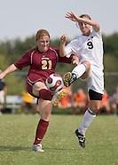 OC Women's Soccer vs Park - 9/29/2007