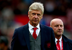 Arsenal manager Arsene Wenger cuts a frustrated figure after defeat to Stoke City - Mandatory by-line: Robbie Stephenson/JMP - 19/08/2017 - FOOTBALL - Bet365 Stadium - Stoke-on-Trent, England - Stoke City v Arsenal - Premier League