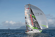 Arrival Simon KOSTER (Proto 888) 3rd to Category Prototype, 24 days 6 hours 5 mn and 40 s during the 2017 Mini Transat La Boulangere on November 15, 2017 in Marin, Martinique, France - Photo Olivier Blanchet / ProSportsImages / DPPI