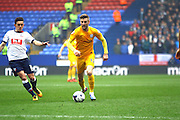 Preston North End Midfielder Paul Gallagher during the Sky Bet Championship match between Bolton Wanderers and Preston North End at the Macron Stadium, Bolton, England on 12 March 2016. Photo by Pete Burns.