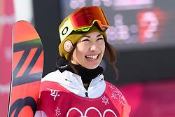 February 19, 2018 - Pyeongchang, SOUTH KOREA - 180219 Yuka Fujimori of Japan competes in the Women's Big Air Qualification during day ten of the 2018 Winter Olympics on February 19, 2018 in Pyeongchang..Photo: Carl Sandin / BILDBYRÃ…N / kod CS / 57999_306 (Credit Image: © Carl Sandin/Bildbyran via ZUMA Press)