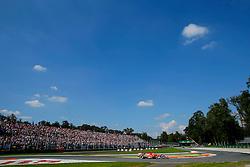 06.09.2014, Autodromo di Monza, Monza, ITA, FIA, Formel 1, Grand Prix von Italien, Qualifying, im Bild Kimi Raikkonen (FIN) Ferrari F14 T. // during the Qualifying of Italian Formula One Grand Prix at the Autodromo di Monza in Monza, Italy on 2014/09/06. EXPA Pictures © 2014, PhotoCredit: EXPA/ Sutton Images/ Martini<br /> <br /> *****ATTENTION - for AUT, SLO, CRO, SRB, BIH, MAZ only*****