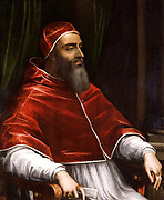 Pope Clement VII by  Sebastiano del Piombo  c 1531