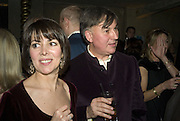 SHARON STIRLING AND CHRISTOPHER KEMP, Discover Wilton's Music Hall, Fundraising event. Graces alley, Ensign St. London. 5 December 2007. -DO NOT ARCHIVE-© Copyright Photograph by Dafydd Jones. 248 Clapham Rd. London SW9 0PZ. Tel 0207 820 0771. www.dafjones.com.