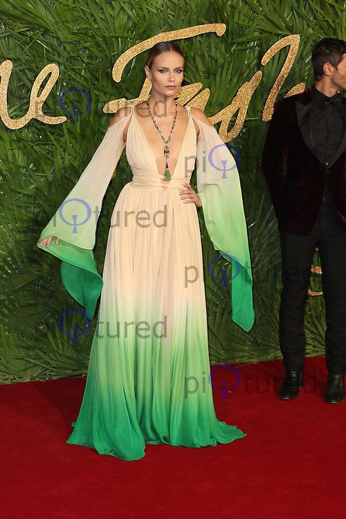 Natasha Poly, The Fashion Awards 2017, The Royal Albert Hall, London UK, 04 December 2017, Photo by Richard Goldschmidt