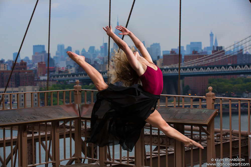 Brooklyn Bridge Dance As Art- The New York Photography Project featuring Kylie Levine