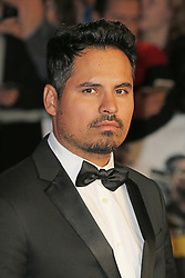© Licensed to London News Pictures. 19/10/2014, UK. Michael Pena, Shia, Fury - BFI London Film Festival closing film, Leicester Square, London UK, 19 October 2014. Photo credit : Richard Goldschmidt/Piqtured/LNP