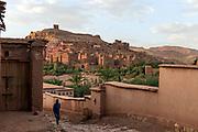 The film set town of Ait Bennadou