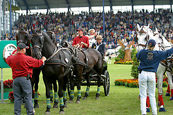 Schrijvers Gert<br /> CHIO Aachen 2002<br /> Photo © Dirk Caremans