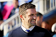 Shrewsbury Town manager Sam Ricketts before the EFL Sky Bet League 1 match between Peterborough United and Shrewsbury Town at London Road, Peterborough, England on 23 February 2019.