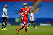 MK Dons midfielder, on loan from Crystal Palace, Jonny Williams  during the Sky Bet Championship match between Bolton Wanderers and Milton Keynes Dons at the Macron Stadium, Bolton, England on 23 January 2016. Photo by Simon Davies.