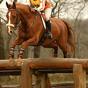 Sharon White (USA) and Wrenegade at the Morven Park Spring Horse Trials held in Leesburg, Virginia