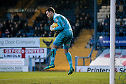 Simon Eastwood (Oxford United) saves a Bury shot during the EFL Sky Bet League 1 match between Bury and Oxford United at the JD Stadium, Bury, England on 17 December 2016. Photo by Mark P Doherty.