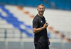 OSIJEK, CROATIA - Friday, June 7, 2019: Wales' manager Ryan Giggs during a training session at Stadion Gradski vrt ahead of the UEFA Euro 2020 Qualifying Group E match against Croatia. (Pic by David Rawcliffe/Propaganda)