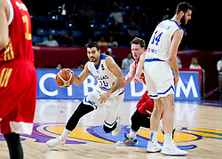 Kostas Sloukas of Greece vs Dmitrii Kulagin of Russia during basketball match between National Teams of Greece and Russia at Day 14 in Round of 16 of the FIBA EuroBasket 2017 at Sinan Erdem Dome in Istanbul, Turkey on September 13, 2017. Photo by Vid Ponikvar / Sportida