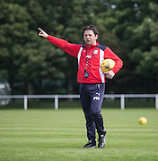 Dundee manager Paul Hartley  -  Dundee FC pre-season training at Dundee University Grounds, Riverside<br /> <br />  - &copy; David Young - www.davidyoungphoto.co.uk - email: davidyoungphoto@gmail.com