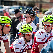 WOODSTOCK, VA - MAR 4: Ben lines up in the back before the start of the 2nd stage circuit race at the Tour of the Southern Highlands stage race on Saturday, Mar. 4, 2017 in Woodstock, Ga. (Photo by Jay Westcott/The News & Advance)