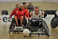 Finland V Denmark at the 2016 IWRF Rio Qualifiers, Paris, France
