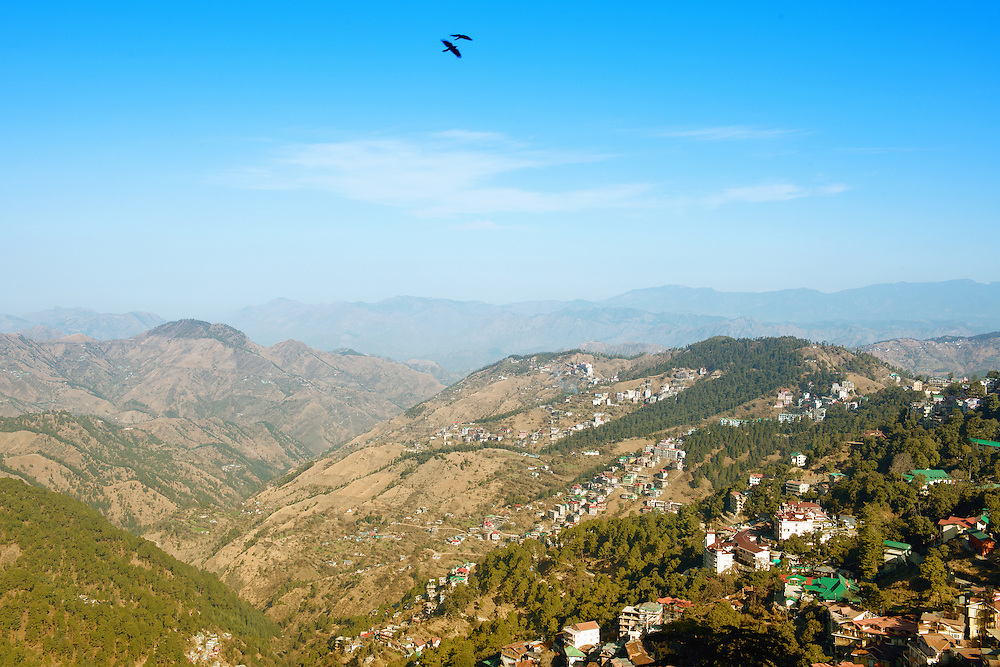 Shima, capital city of the Indian state of Himachal Pradesh in Northern India