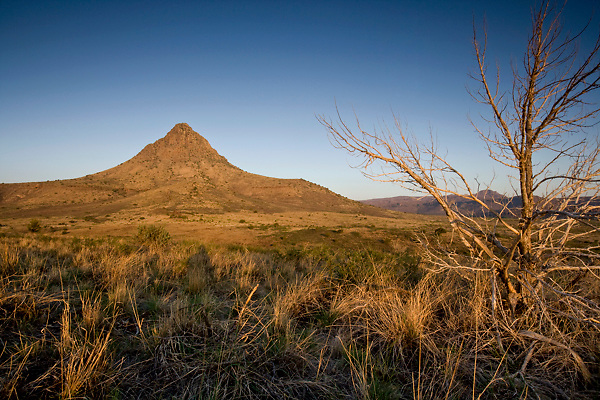 Stock photo of Mitre Peak - Davis Mountain Range, Jeff Davis County, Texas